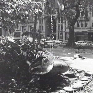 John Christie Wright Memorial Fountain historical image