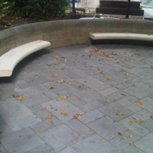 John Christie Wright Memorial Fountain restoration
