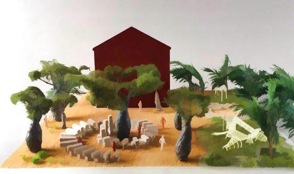 Artist impression While I Live I will Grow by Maria Fernanda Cardoso