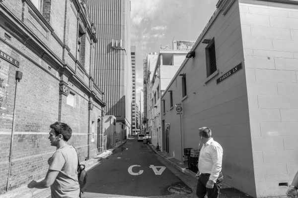 Parker Lane, Sydney. 2nd March 2016.