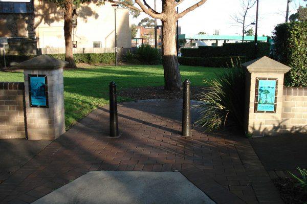 Green Bans Park Friezes